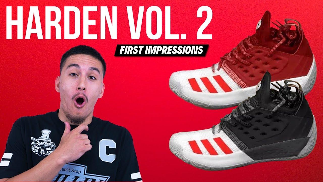 218a8dd21567a adidas Harden Vol. 2 LEAK   FIRST IMPRESSIONS! - YouTube