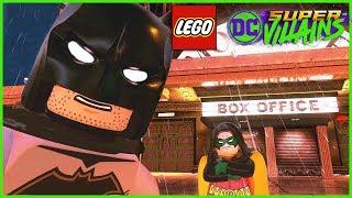 LEGO DC Super-Villains:  Monarch Theatre Gotham City Free Roam