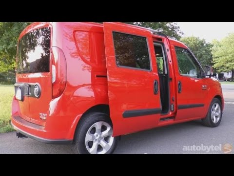 2016 Ram Promaster City Slt Wagon Test Drive Video Review