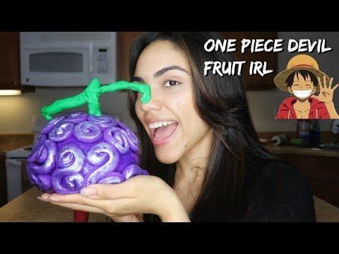 One Piece Devil Fruit IRL!