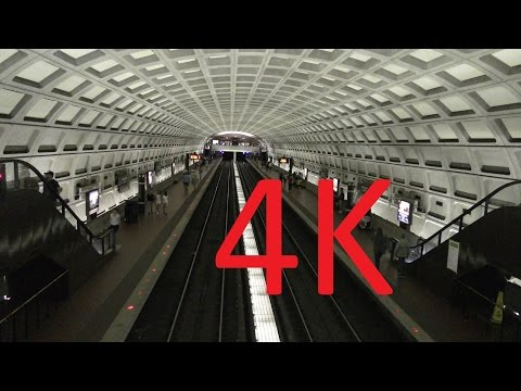 A Look at the Washington Metro (Filmed in 4K)