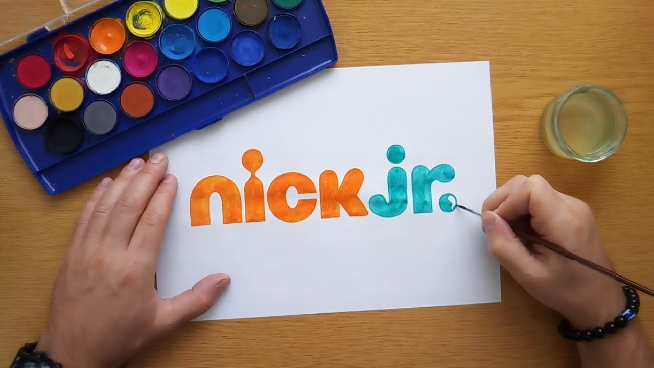 How to draw the nick jr. logo (coloring pages, coloring ...