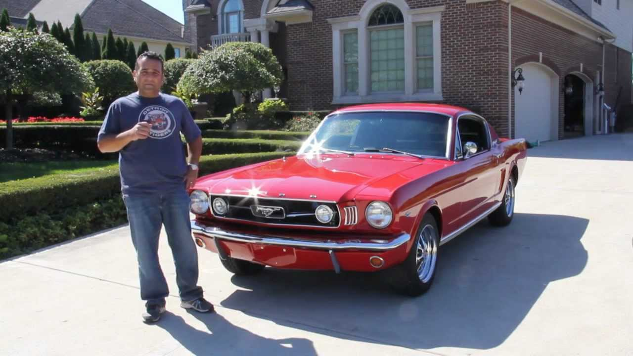 1966 ford mustang fastback classic muscle car for sale in mi vanguard motor sales youtube