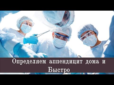 Определяем аппендицит дома и Быстро