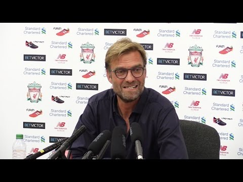 Jurgen Klopp Full Pre-Match Press Conference - Liverpool v Leicester