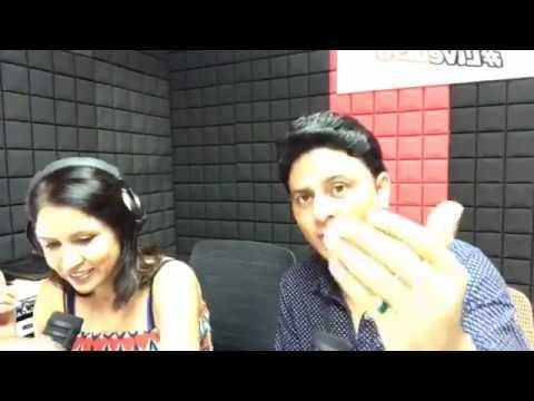 #RadioKaVideo with naughty 'RJ Renuka'  on Radio Masti in Singapore :)