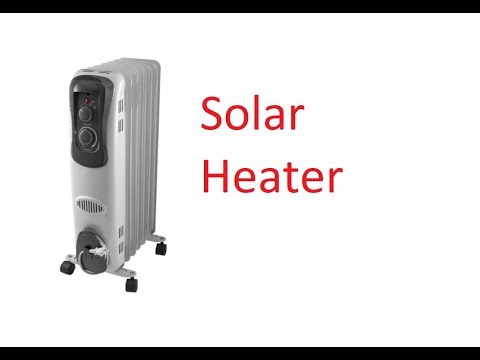 Solar Powered Electric Space Heaters