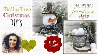 DIY Dollar Tree Christmas Décor | DIY Christmas Crafts | DIY Farmhouse Christmas Crafts screenshot 1