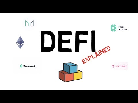 What is DEFI? Decentralized Finance Explained (Ethereum, Mak