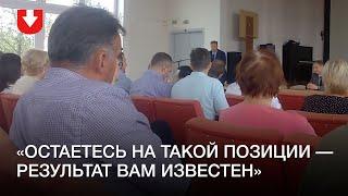 Как работники «Белэнергосетьпроекта» встречались с представителями власти