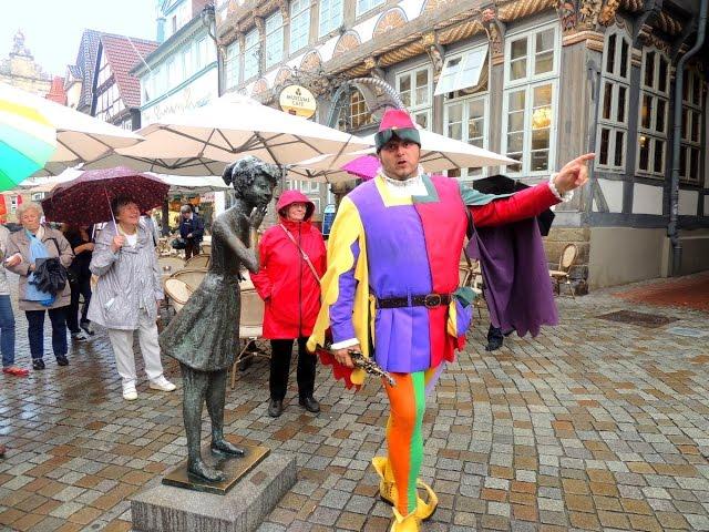 Hamelin y el flautista - uno de los pueblos más bellos de Alemania