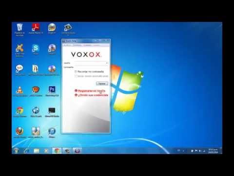 Tutorial De Voxox