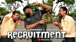 RECRUITMENT - KingZina x Kalistus x Omo Jesu -  (KingZina comedy) (Episode113)