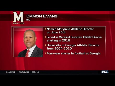 Damon Evans Named New Maryland Athletic Director   Maryland Terrapins