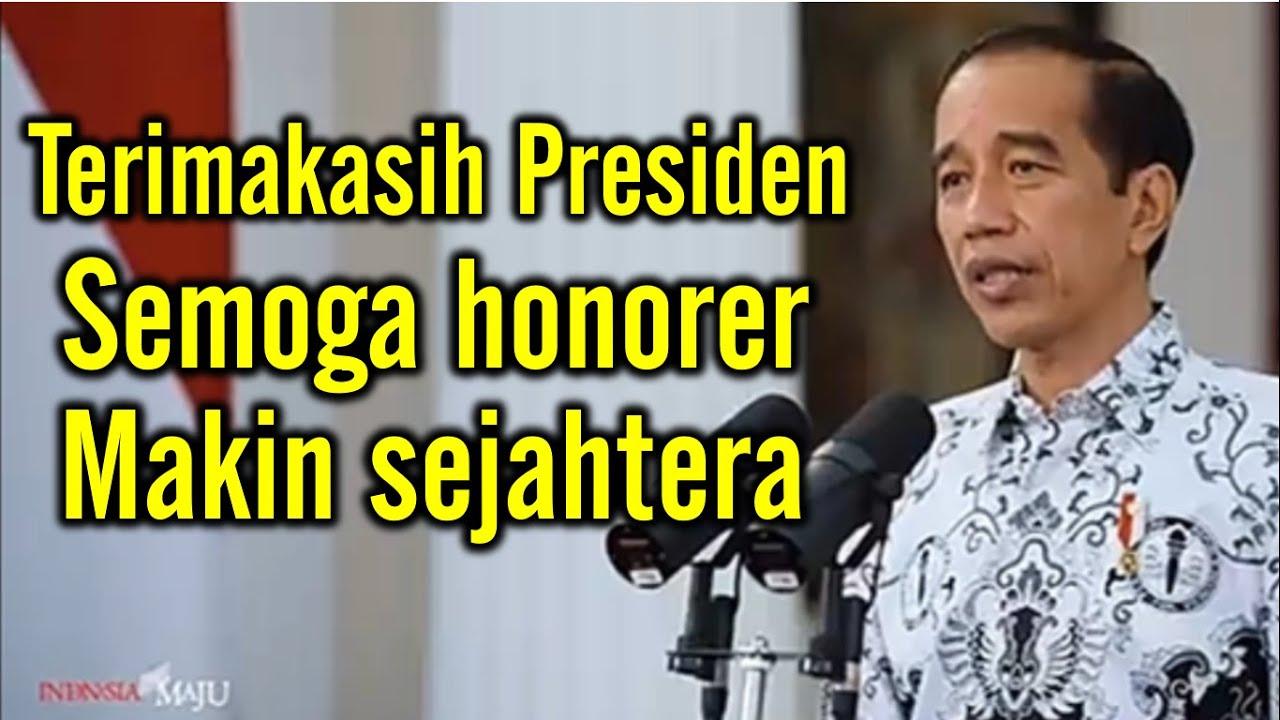 Guru Honorer Patut Bersyukur, Ini Dia Realisasi Kebijakan Presiden Jokowi Untuk Guru Honorer, Ssssttt... Ada Perpanjangan BSU 2021