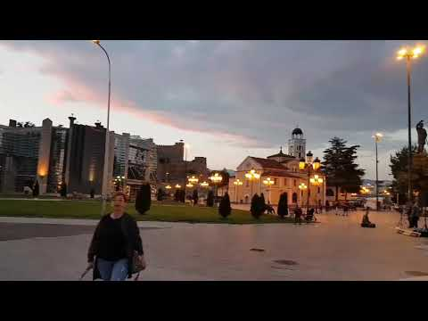 Macedonia. City Skopje.