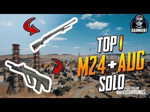 dahmien7 - TOP 1 PUBG M24 + AUG New Map MIRAMAR
