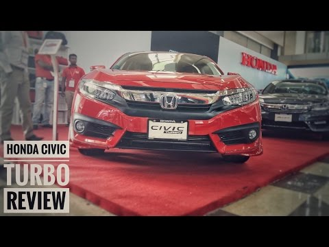 Honda Civic Turbo Short Review . Dhaka Motor show 2017