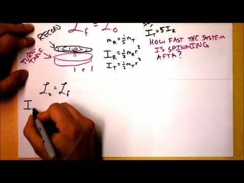 Conservation of Angular Momentum Theory and Worked Example | Doc Physics
