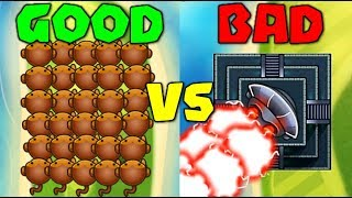Can I Beat A TEMPLE HACKER With 0-0 Dart Monkeys? HACKER VS HACKER :: Bloons TD Battles