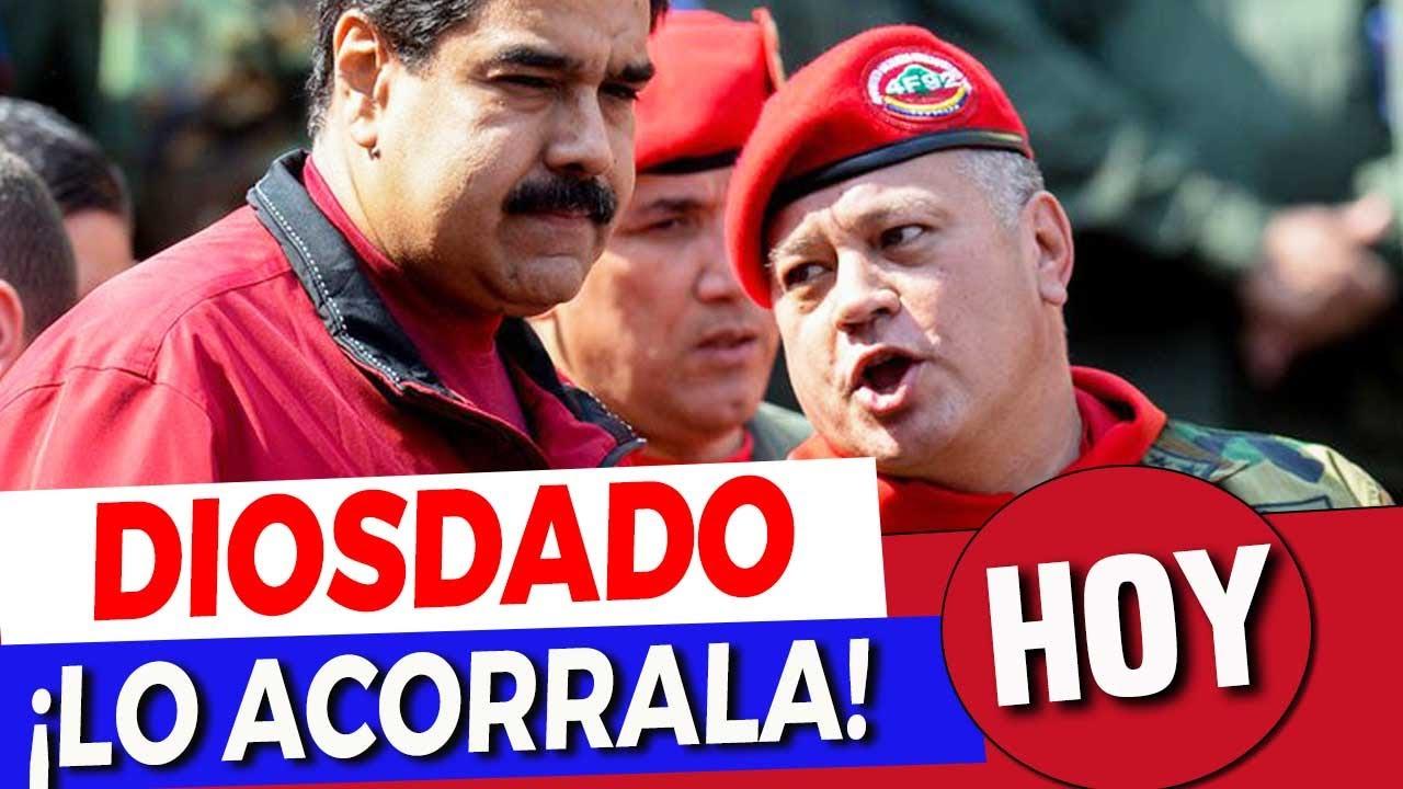 Ultima Hora Maduro | El Dilema de Maduro: Sacar o NO a la Promoción de Diosdado Cabello