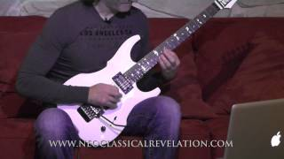 Sweep Picking Guitar Lesson By Luca Turilli