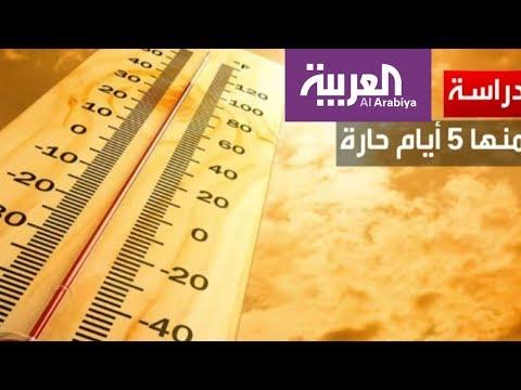 درجات الحرارة العالية تضعف إنتاجية البشر  - 22:21-2018 / 7 / 12