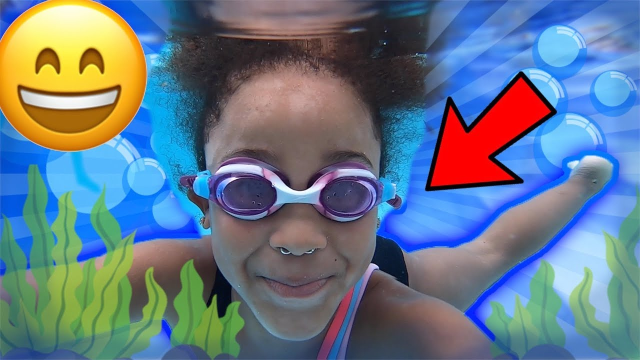 Cali Teaches How to Swim | FamousTubeKIDS