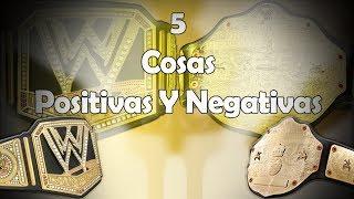NWO#8 5 Cosas Positivas y Negativas Sobre La Unificación De Títulos Máximos De la WWE - Loquendo