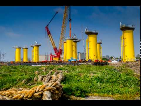 Offshore Structures Britain - Burbo Bank Windfarm