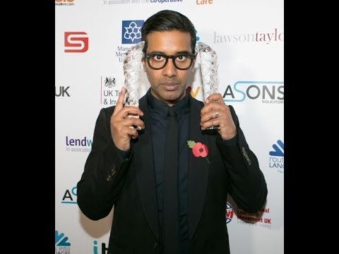 Asian Media Awards 2013 - Best Radio Show & Radio Presenter Of The Year - Nihal