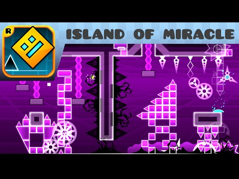 Geometry Dash - island of miracle (Hard Demon) - by Noobas