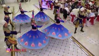 Очень красивый танец.Уйгурский танец.Ансамбль Рухсара