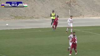 Armenia U19 vs Hungary U19 full match