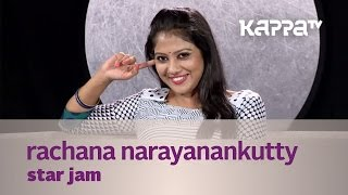 Rachana Narayanankutty In Star Jam 03/07/15