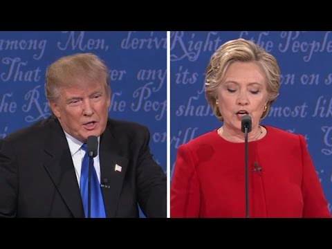 US Presidential debate highlights