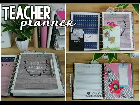 Teacher Planner 2015-2016 - The Lettered Classroom