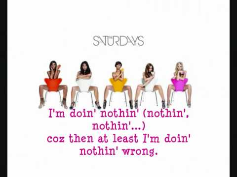 "The Saturdays - ""Higher"" With Lyrics On Screen (NEW SINGLE 2010)"