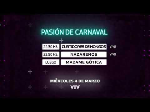 Agenda Carnaval – Miercoles 4 de Marzo