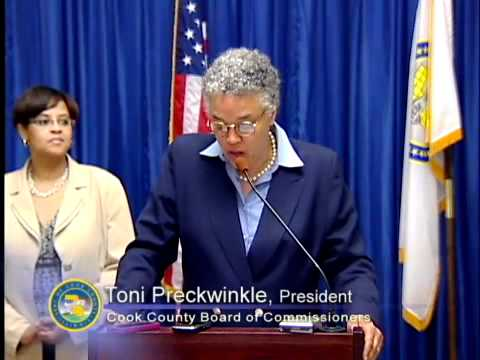 President Toni Preckwinkle today launched the Cook County Works Youth Employment Program