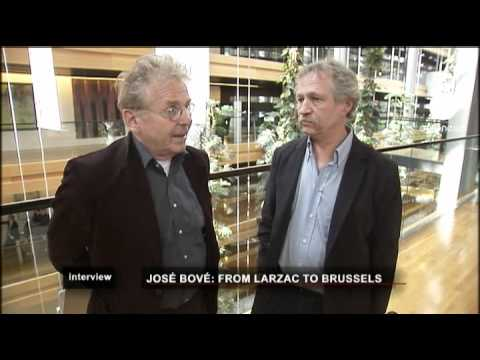 euronews interview - José Bové. Der Parlamentarier.