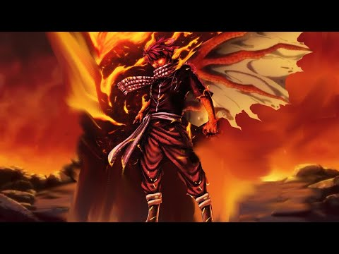 Natsu Overpowers The Battle God Ikutsatsunagi - Fairy Tail Final Series