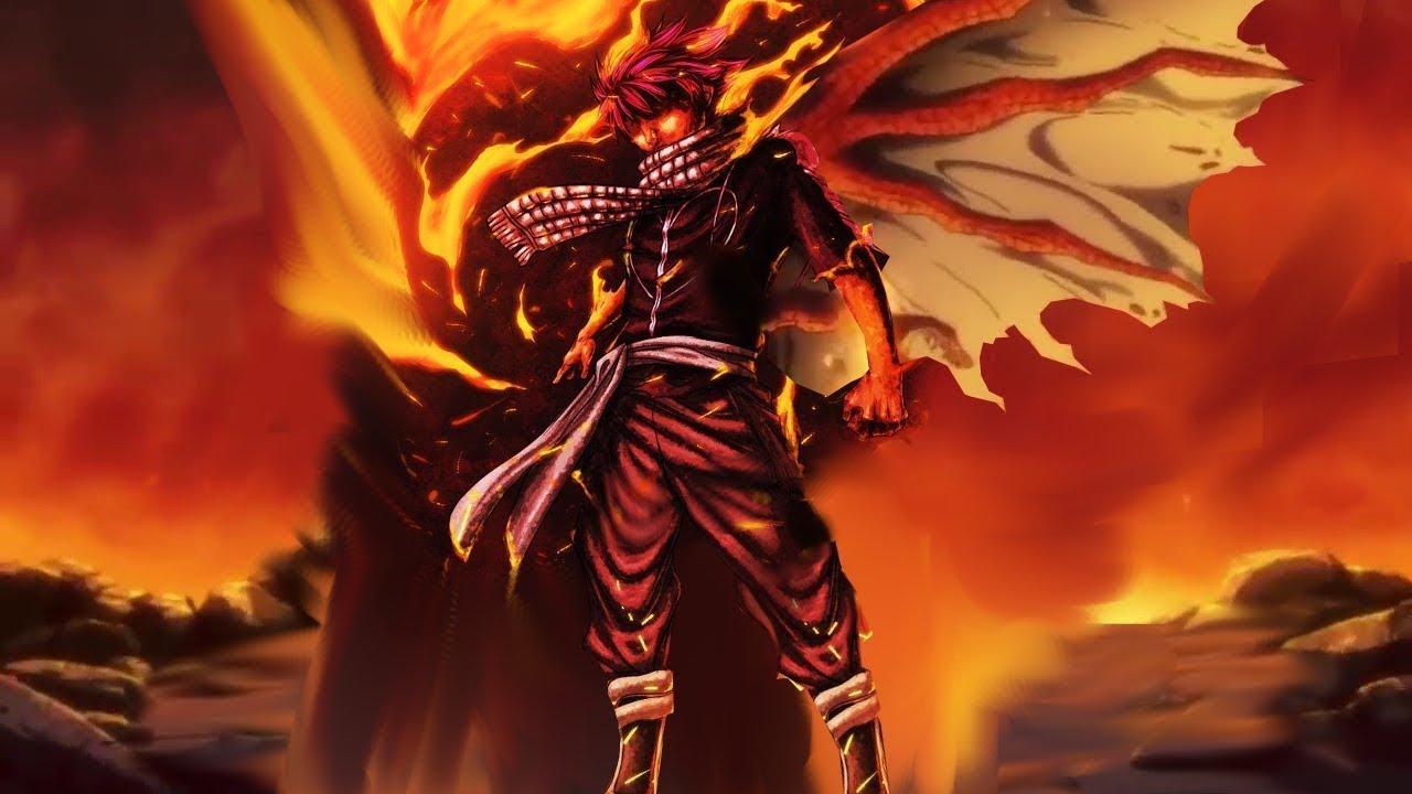 Download Natsu Overpowers the Battle God Ikutsatsunagi - Fairy Tail Final Series