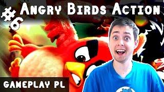 ANGRY BIRDS ACTION PO POLSKU AKCJA #6 | ODBLOKOWANO CHUCKA!