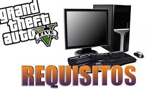 GTA V para PC - FINALMENTE! REQUISITOS MÍNIMOS OFICIAIS