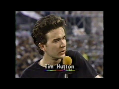 MTV Interview - Timothy Hutton (MTV - Live Aid 7/13/1985)