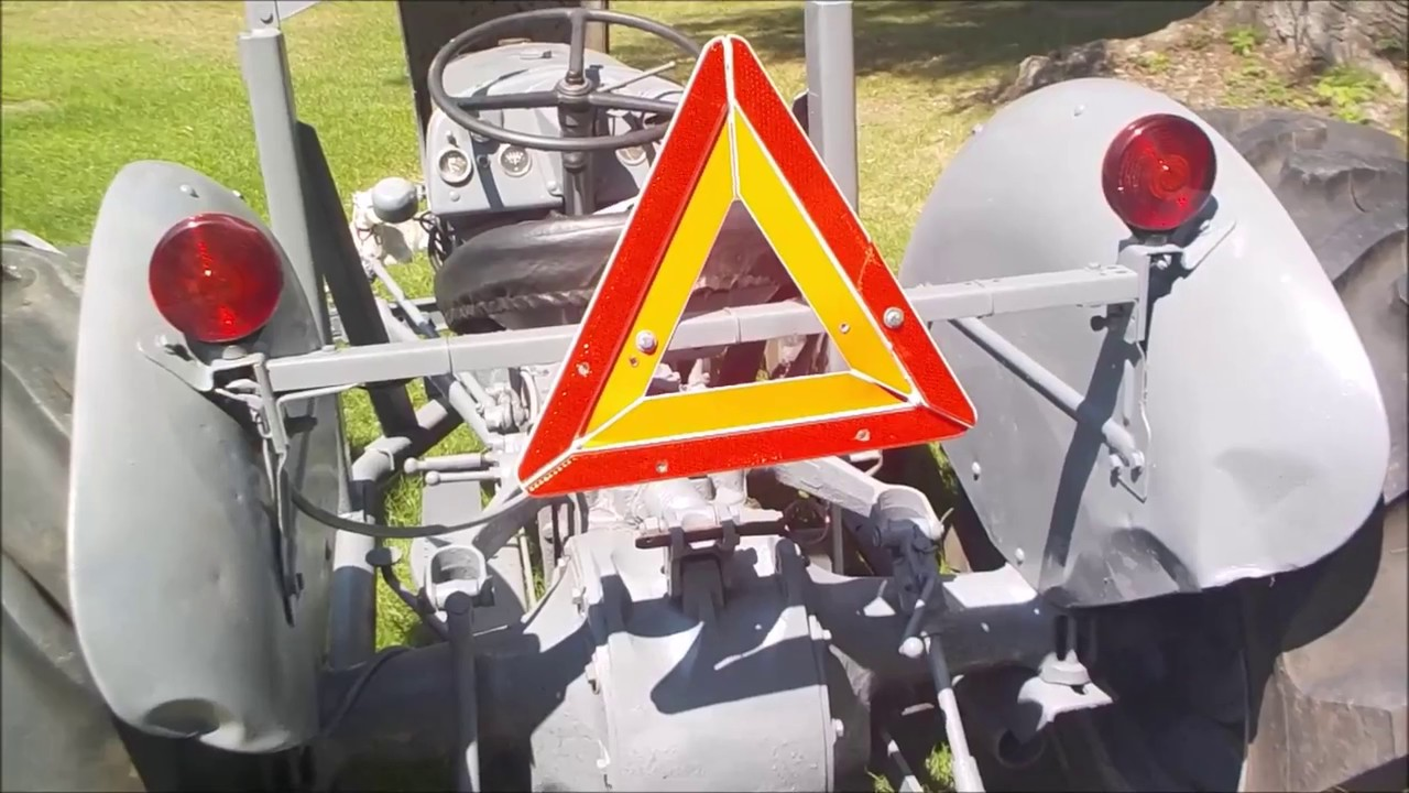 installation of flasher lights 6 volt tractor [ 1280 x 720 Pixel ]