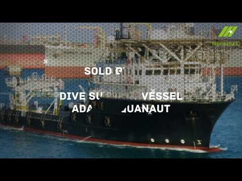 SOLD! Dive Support Vessel ADAMS AQUANAUT HD