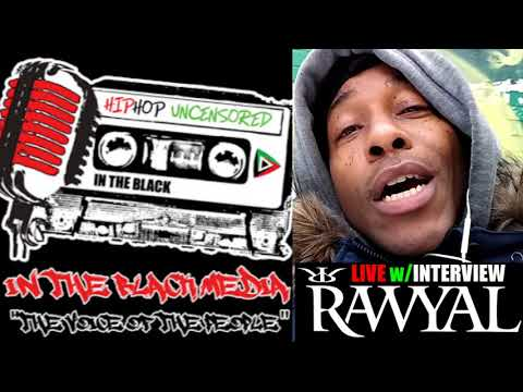 "Harlem Rapper ""Rawyal"" LIVE Interview Tonight 7pm EST   The State of Hip Hop!"