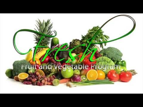 Fresh Fruit and Vegetable Program SY16